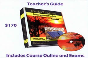 9781936634750: Solar Hot Water Systems: Lessons Learned 1977 to Today (Teacher's Guide)