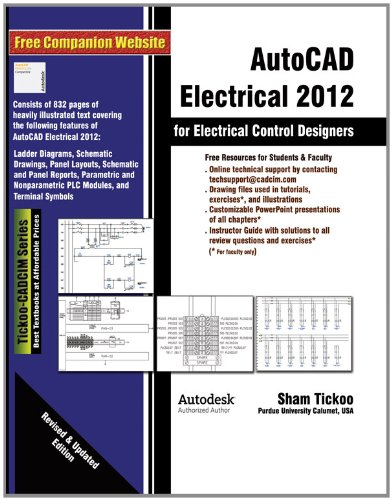 9781936646203: AutoCAD Electrical 2012 for Electrical Control Designers