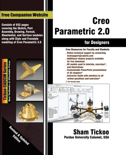 creo parametric 2.0 book by sham tickoo pdf
