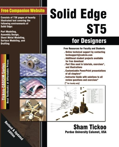 9781936646395: Solid Edge ST5 for Designers