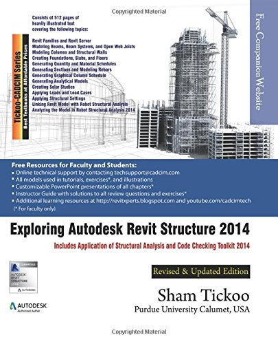 9781936646500: Exploring Autodesk Revit Structure 2014
