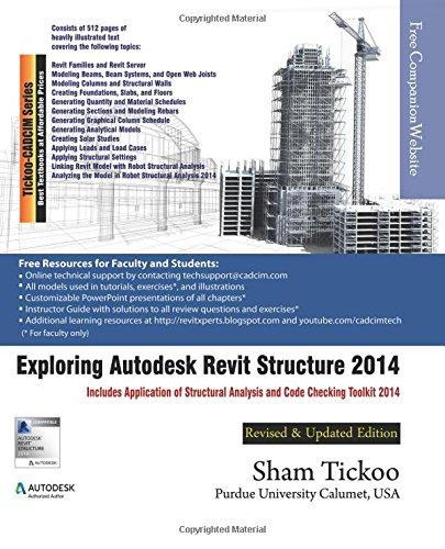 9781936646500: Exploring Autodesk Revit Structure 2014