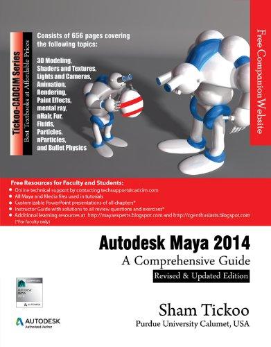 9781936646524: Autodesk Maya 2014: A Comprehensive Guide