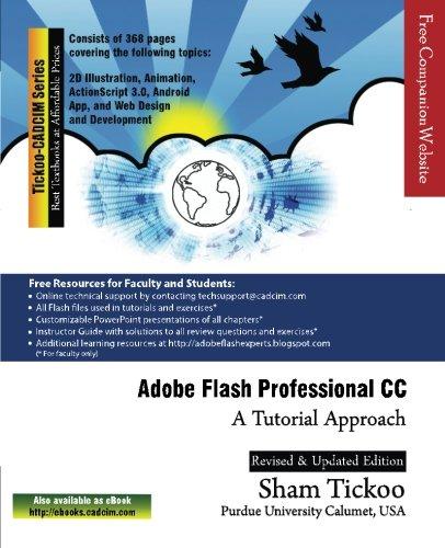9781936646623: Adobe Flash Professional CC: A Tutorial Approach