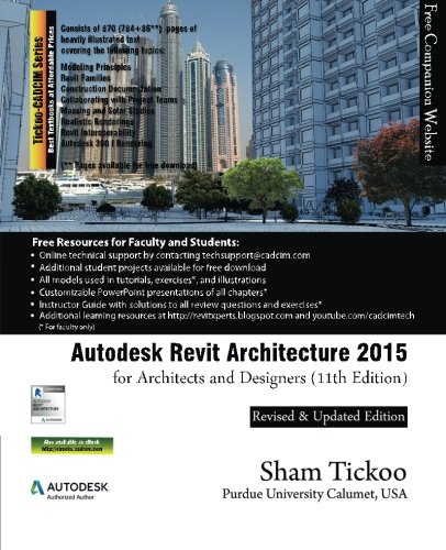 9781936646715: Autodesk Revit Architecture 2015 for Architects and Designers