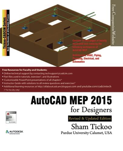 9781936646722: AutoCAD MEP 2015 for Designers
