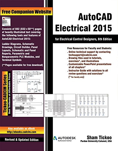 9781936646913: AutoCAD Electrical 2015 for Electrical Control Designers