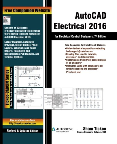 9781936646999: AutoCAD Electrical 2016 for Electrical Control Designers