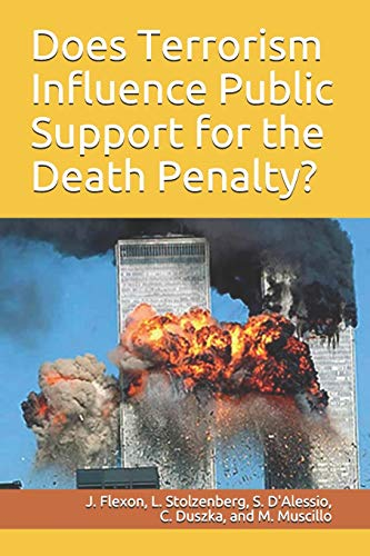 9781936651030: Does Terrorism Influence Public Support for the Death Penalty? (Research on Public Policy Series)