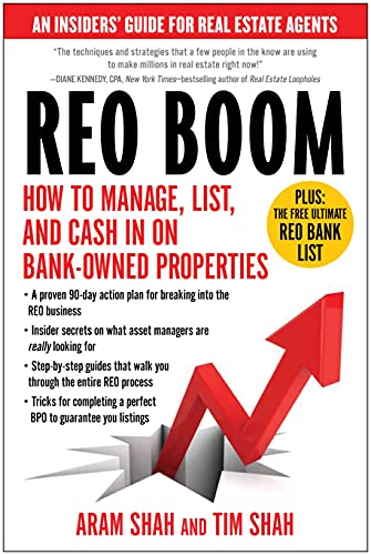 9781936661565: REO Boom: How to Manage, List, and Cash in on Bank-Owned Properties: An Insiders? Guide for Real Estate Agents