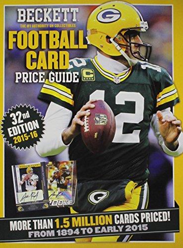 9781936681068: Beckett Football Card Price Guide 2015-16
