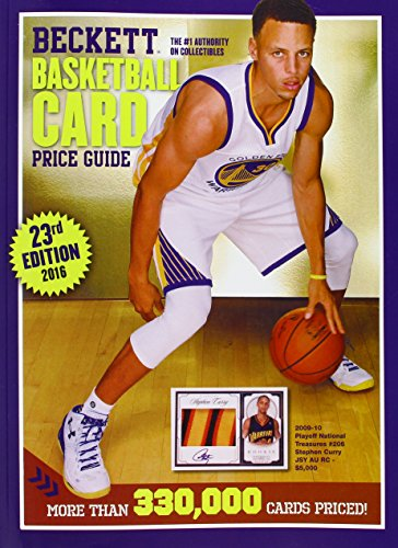 9781936681105: Beckett Basketball Card Price Guide 2016