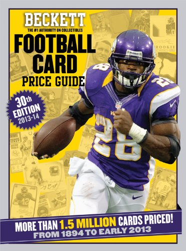 Beckett Football Card Price Guide 2013-14: Beckett, James, Dr., III