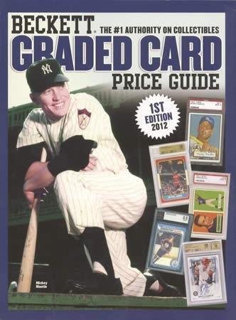 9781936681891 Beckett Graded Card Price Guide No 1 Abebooks