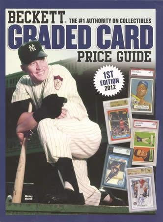 9781936681891: Beckett Graded Card Price Guide 2012