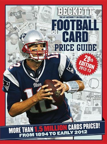 9781936681938: Beckett Football Card Price Guide 2012-13: From 1894 to Early 2012