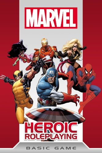 9781936685165: Marvel Heroic Roleplaying: Basic Game