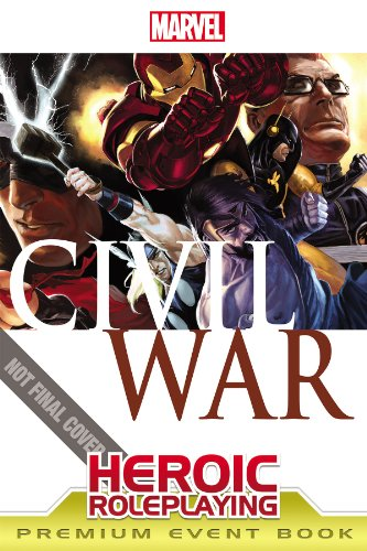 9781936685172: Heroic Roleplaying: Civil War Premium Event Book (Marvel Heroic Roleplaying)