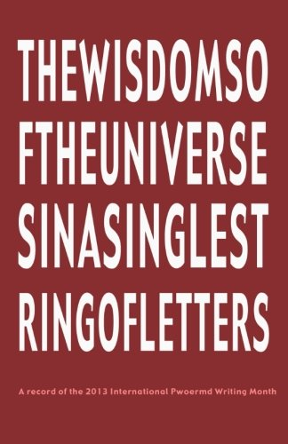 9781936687268: the wisdoms of the universes in a single string of letters