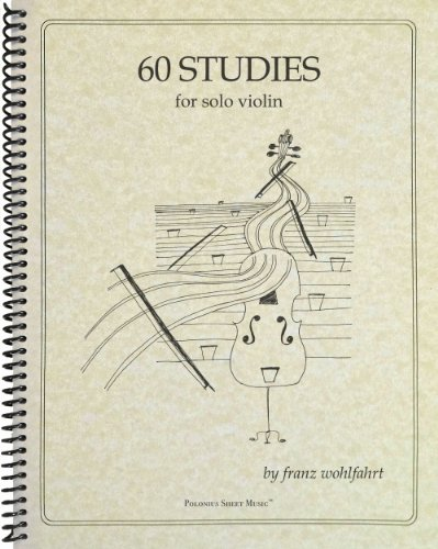 Franz Wohlfahrt 60 Studies Books 1 and 2 for Violin 45 Complete Op