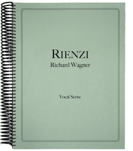 9781936710478: Rienzi Vocal Score