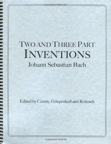 9781936710539: Two and Three Part Inventions