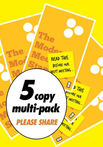 9781936719174: Read This Before Our Next Meeting (5 Pack - Designed to Share)