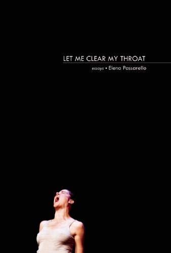 9781936747528: Let Me Clear My Throat: Essays