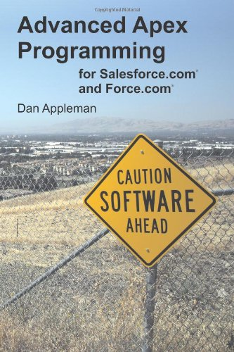 9781936754052: Advanced Apex Programming for Salesforce.com and Force.com