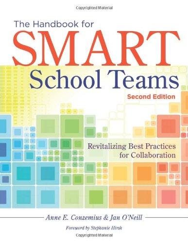 9781936764785: Handbook for SMART School Teams: Revitalizing Best Practices for Collaboration