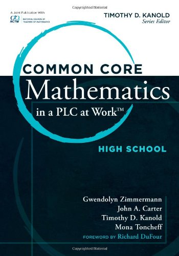 9781936765508: Common Core Mathematics in a PLC at Work, High School
