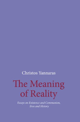 9781936773039: The Meaning of Reality - Essays on Existence and Communion, Eros and History