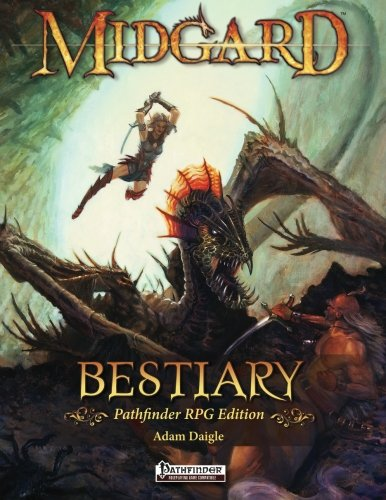 9781936781133: Midgard Bestiary for Pathfinder RPG