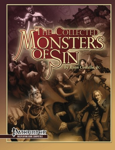 9781936781225: The Collected Monsters of Sin: for Pathfinder RPG