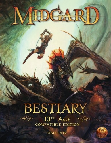 9781936781270: Midgard Bestiary (13th Age Compatible)