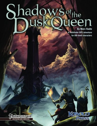 9781936781430: Shadows of the Dusk Queen (Pathfinder Roleplaying Game Adventure)