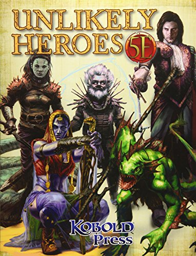 9781936781669: Unlikely Heroes for 5th Edition