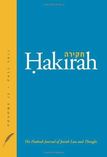 Hakirah: The Flatbush Journal of Jewish Law: Heshey Zelcer/ Arthur