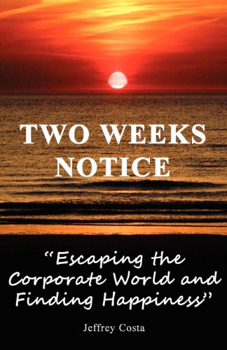 Two Weeks Notice: Jeffrey Costa