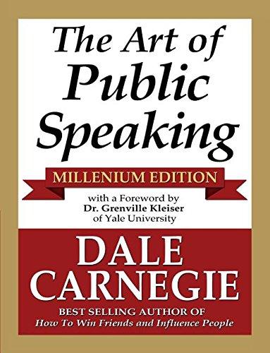 9781936828265: The Art of Public Speaking - Millenium Edition