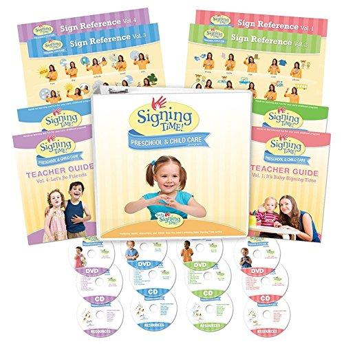 9781936859108: Signing Time Preschool Program COMPLETE (DVD Edition)