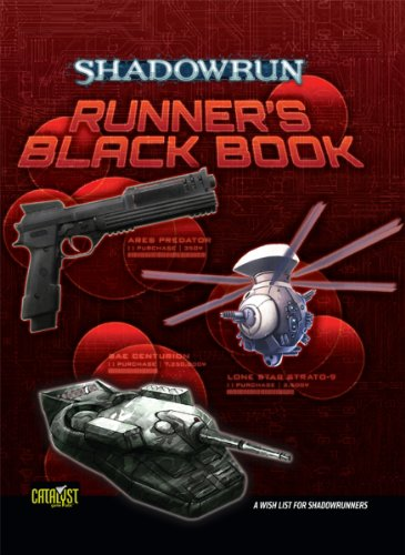 Shadowrun Runners Black Book: Catalyst Game Labs