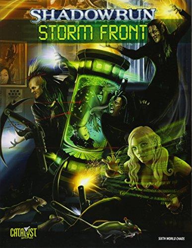 Shadowrun Storm Front: Labs, Catalyst Game; Oratz, Devon