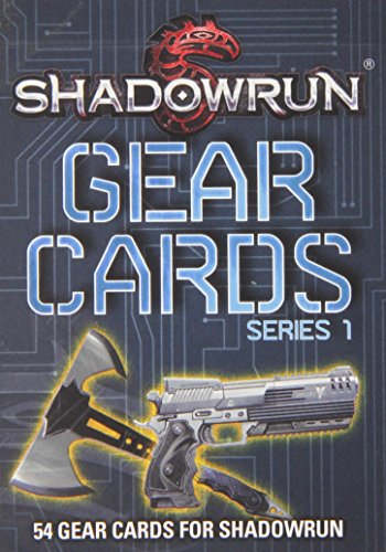 9781936876594: Shadowrun Gear Cards 1