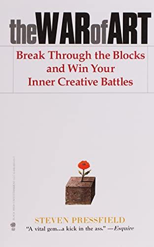 9781936891023: The War of Art: Break Through the Blocks and Win Your Inner Creative Battles