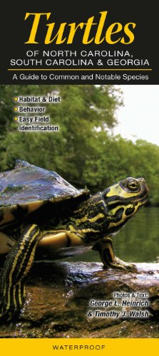 9781936913541: Turtles of North Carolina, South Carolina & Georgia: A Guide to Common & Notable Species
