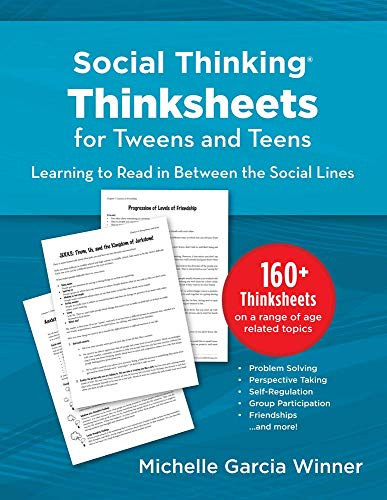9781936943005: Social Thinking Worksheets for Tweens and Teens Learning to Read in-Between the Social Lines