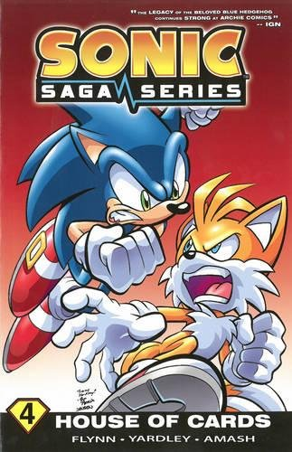 Sonic Saga Series 4: House of Cards: Sonic Scribes