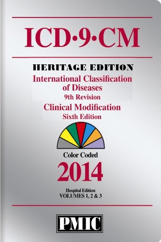 ICD-9-CM 2014 Heritage Edition, Coder's Choice Volumes 1, 2 & 3 (1936977826) by Practice Management Information Corp