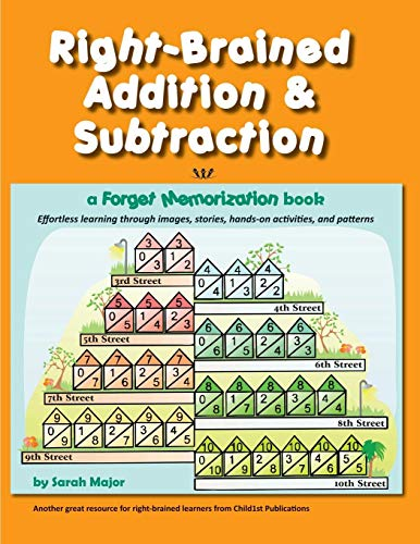 9781936981540: Right-Brained Addition & Subtraction